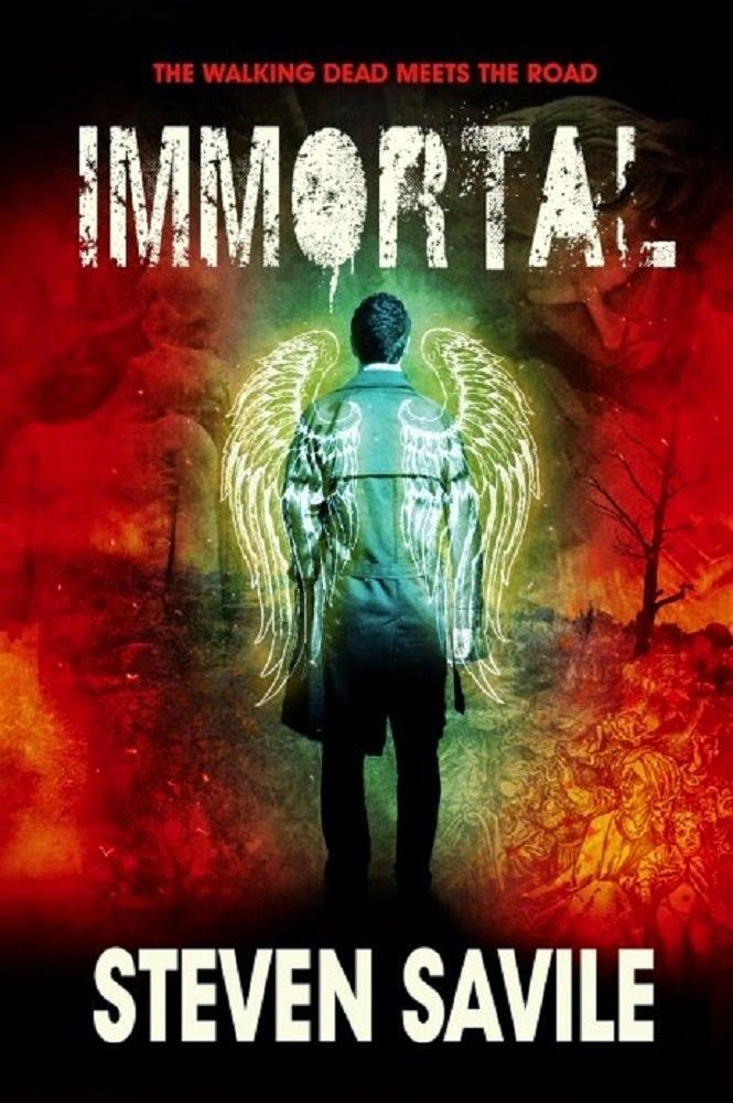 Frank Michaels Errington's Horrible Book Reviews: Immortal - by Steven Savile - An epic adventure in an apocalyptic world