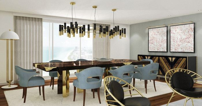 25 idee per la vostra sala da pranzo modernaSpazi di Lusso Page 26