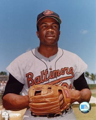 Frank Robinson, Baltimore Orioles. The only player in baseball history to win the Triple Crown award in both the National and American Leagues. Amazing!