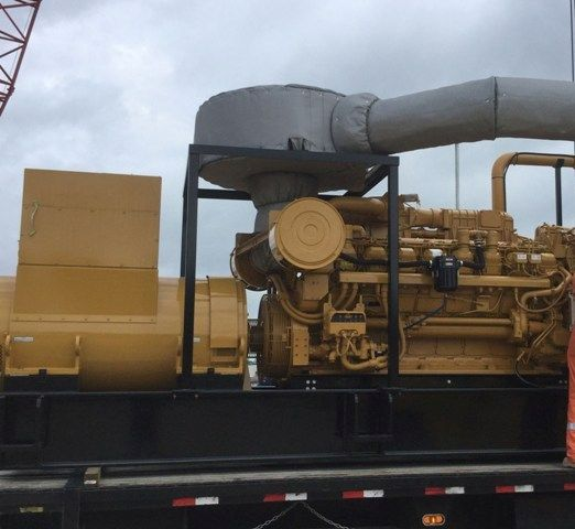 Caterpillar 3516C-HD Diesel Generator set for Oil Field (2) sets Two