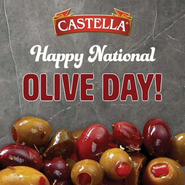 Happy National Olive Day! Celebrate by eating all of your Castella favorites!