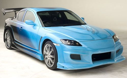 Tokyo Drift- Neela's 2006 Mazda RX-8,  I still would love to have this car.