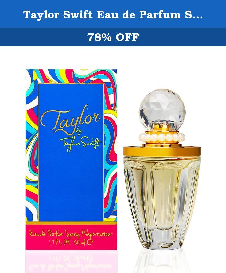 "Taylor Swift Eau de Parfum Spray, Taylor, 1.7 Ounce. ""Taylor by Taylor Swift is a mix of a lot of things – it's sweet, it's sophisticated, it draws you in – it's really my way of translating classic, yet modern, into a perfume."" –Taylor Swift Whether performing for tens of thousands or hanging out with friends, Taylor captivates in vibrant colors, feminine dresses and chic accessories. Playing off Taylor's classic meets contemporary style, the Taylor by Taylor Swift bottle was designed to..."