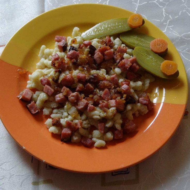 Recept Chlupačky s uzeným od Jan Stříbrný - Recept z kategorie Hlavní jídla - ostatní