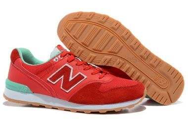 New Balance Dames sneakers 996 Red New Green online kopen
