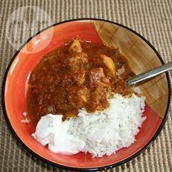 Curry met kalkoen @ allrecipes.nl