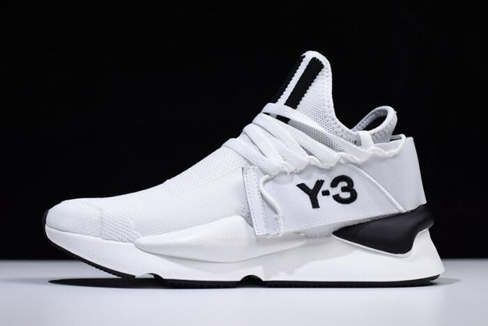 8d2de48b671d Yohji Yamamoto x adidas Y-3 Kaiwa Chunky Primeknit White Black AQ2931 – New  Yeezy 2018