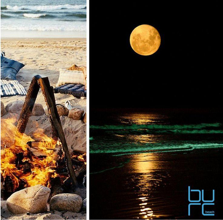 BURC Beach'in kamp ateşi eşliğinde eğlenceli yaz geceleri...