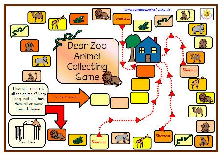Simple board game with full instructions. Uses PCS symbols throughout.