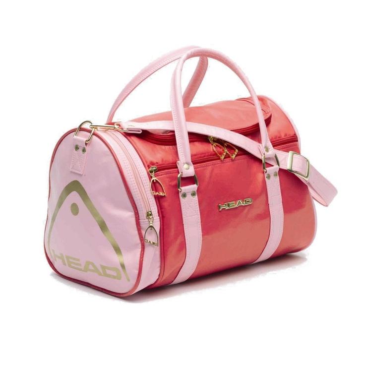 Head Holdall Retro St Moritz Travel Shoulder Bag Gym Sports - Coral Pink £24.99