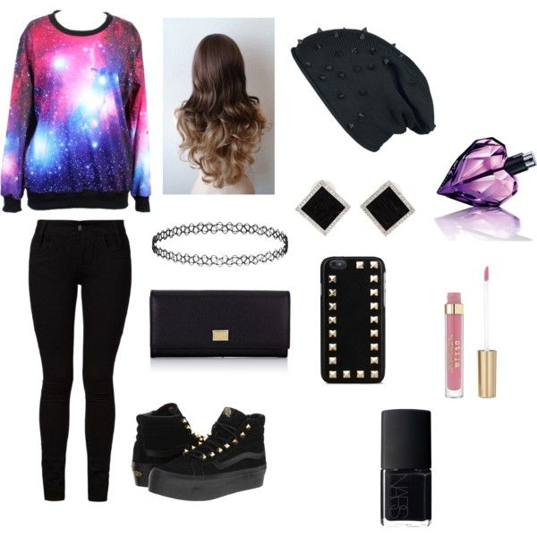 Warm galaxy outfit