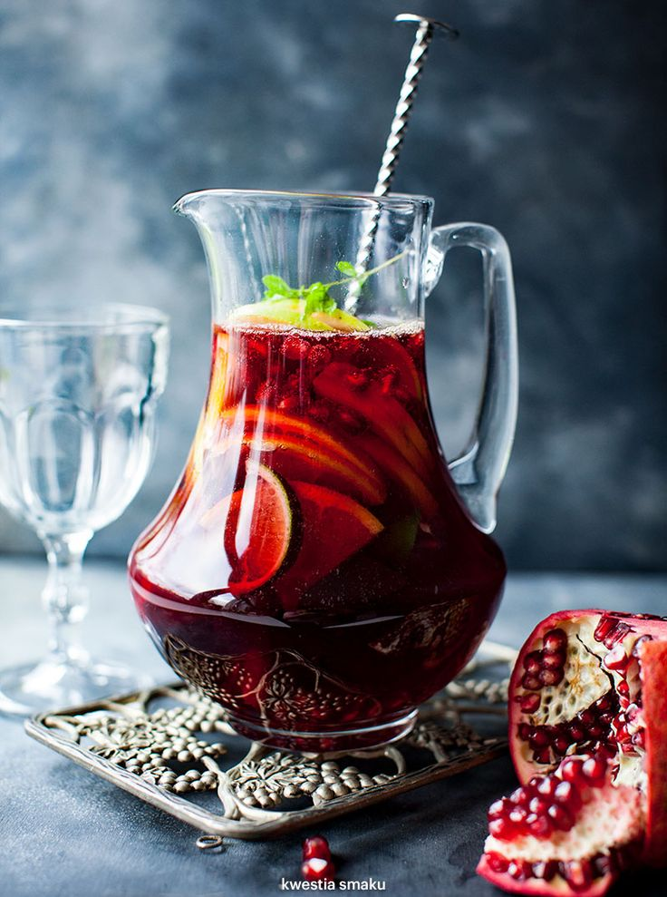 Red Wine Pommegranate Sangria