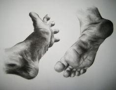 Feet Study by ~yarnuh on deviantART