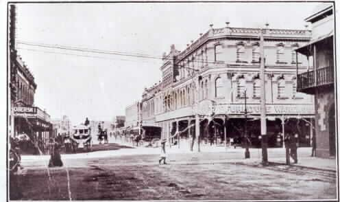 Corner of High and Chapel Streets