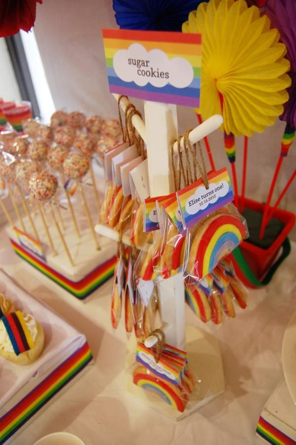 24 Best Images About Rainbow Party On Pinterest Places