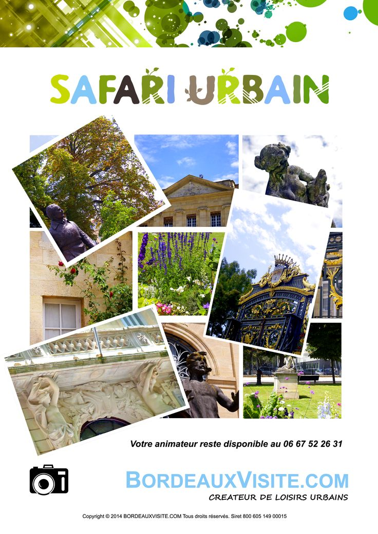 Tous les mercredis à 14 h départ place Jean Moulin, Bordeaux