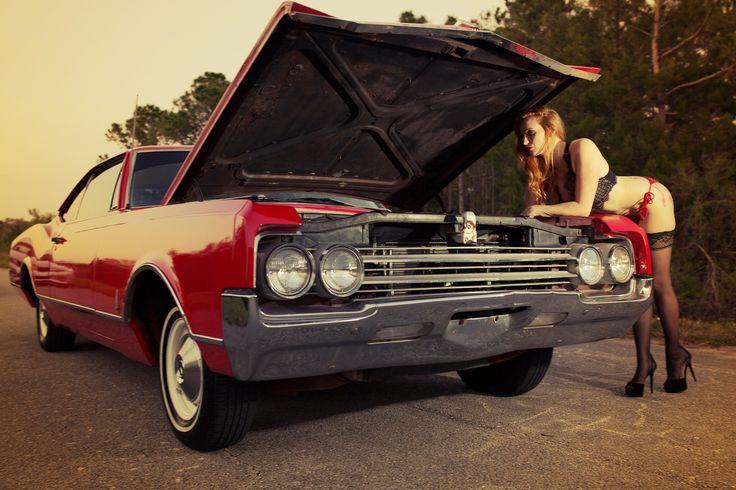 #classics #photoshoot #vintage #redheads #oldsmobile #dynamic88 #1965