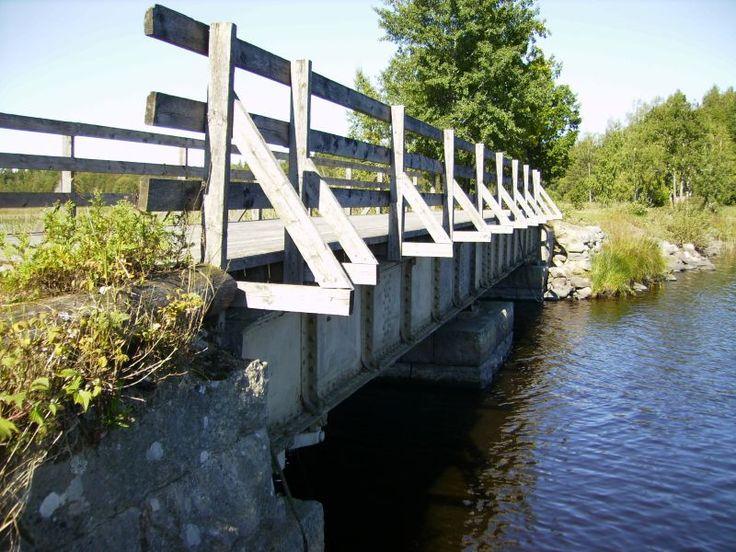 Klaffbro över Åsnen vid Ulvö 2008-08-30