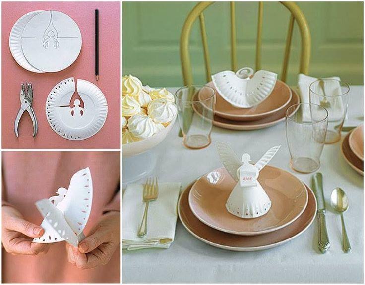 DIY Paper Plate Angels