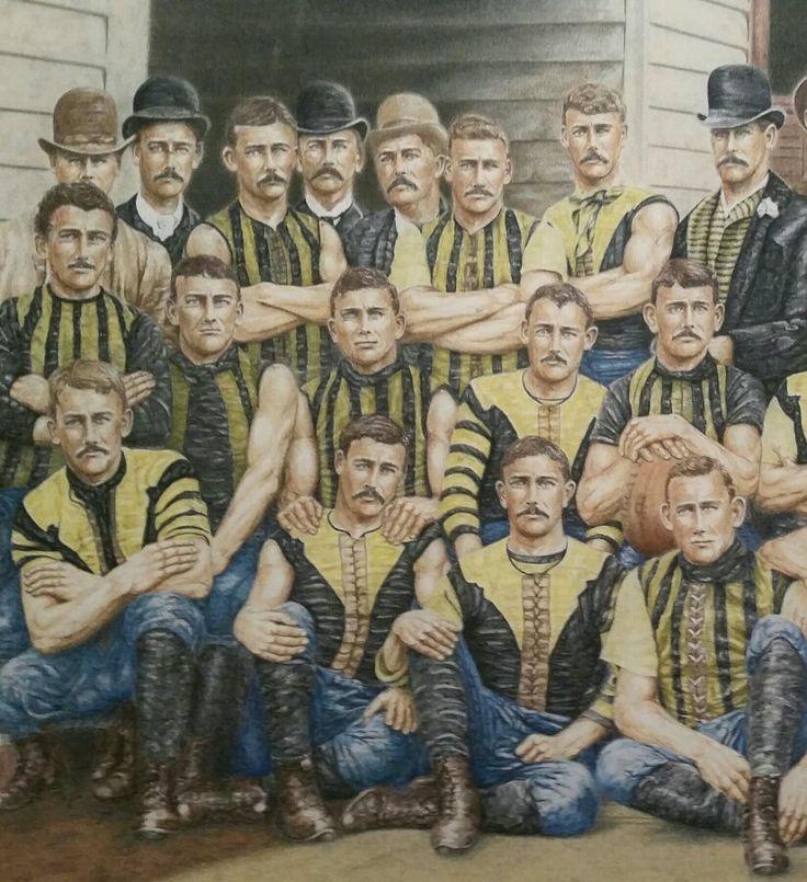 Richmond Football Club  1889 djwilliamsart0@gmail.com Facebook : DJ Williams Art, australianfootballart