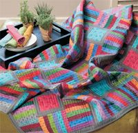 Jean Wells designed this wonder colorful throw. Quick & simple! Learn how to make this quick project in the May/June issue of Love of Quilting!: Candy Store, Quilting Ideas, Blocks Quilts Quilting, Beautiful Quilts, Quilting Projects, Jean Wells, Modern Quilts