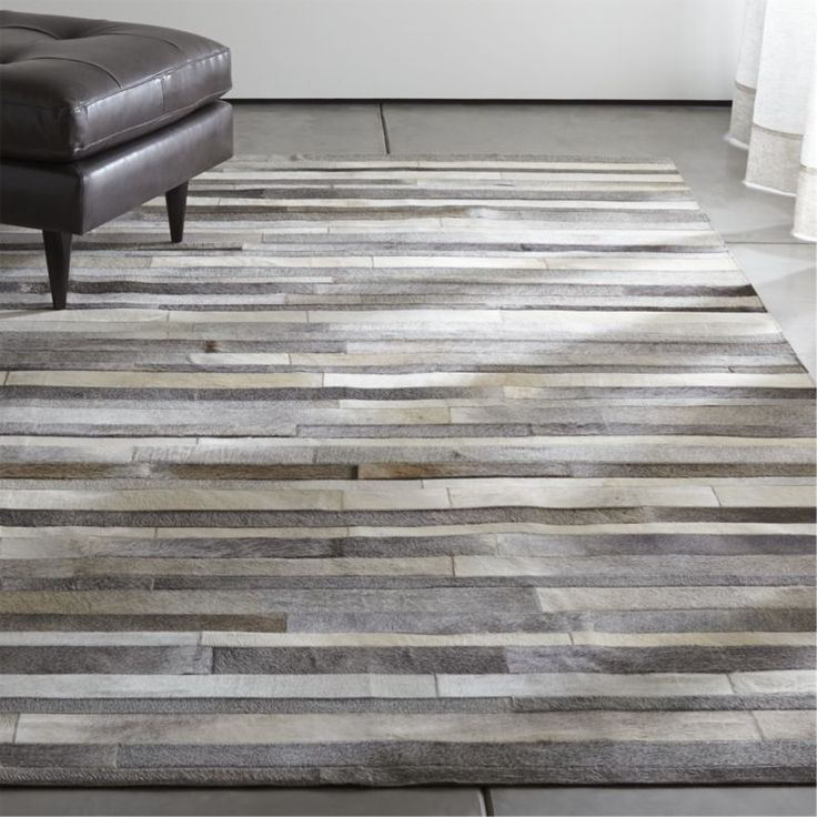 You probably either love this or hate it, but let me just tell you, I LOVE IT. Probably not the most kid-friendly rug you've ever seen, but boy does it scream high-fashion fancy. Crate & Barrel