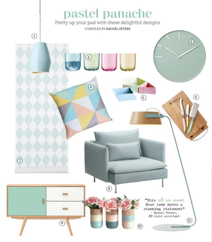 Pastel #ClippedOnIssuu from Home beautiful october 2014 au