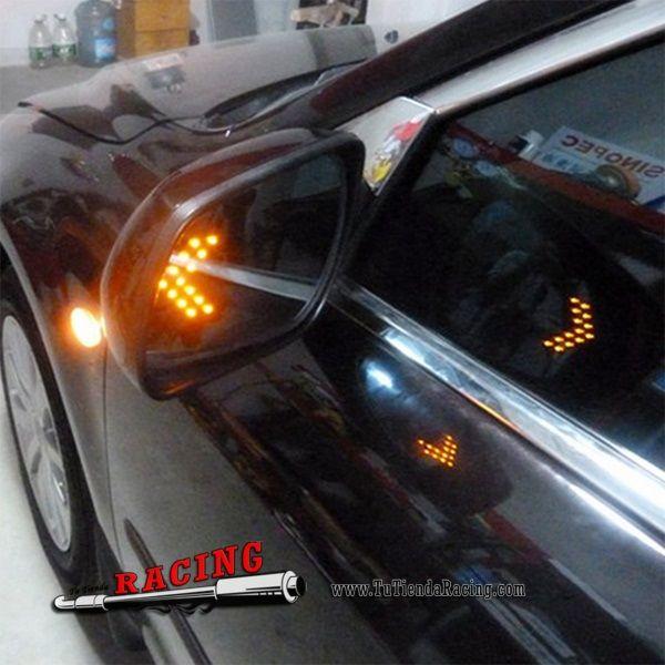 2X Bombillas LED 14 SMD LED con Forma de Flecha Espejos Retrovisores Luces Intermitentes de Coche - 3,56€ - TUTIENDARACING - ENVÍO GRATUITO EN TODAS TUS COMPRAS