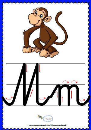 Litera Mm- plansza demonstracyjna FREEEE