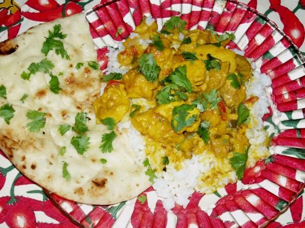 Kalya E Khaas (Traditional South African Chicken Curry).