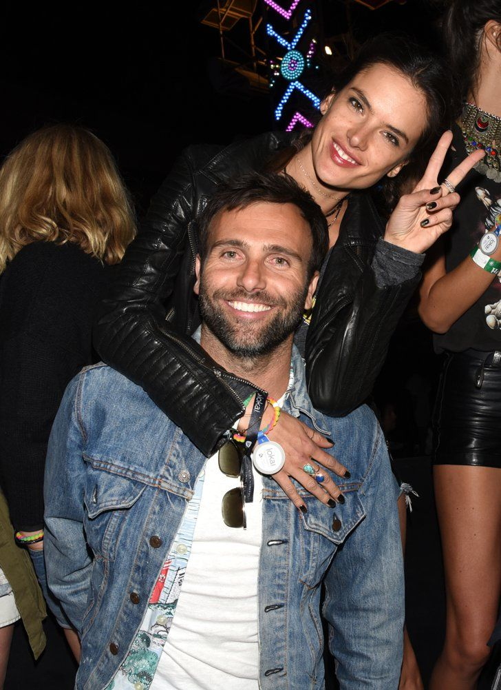 Pin for Later: You Can Almost Feel the Desert Heat Between These Couples at Coachella Alessandra Ambrosio and Jamie Mazur