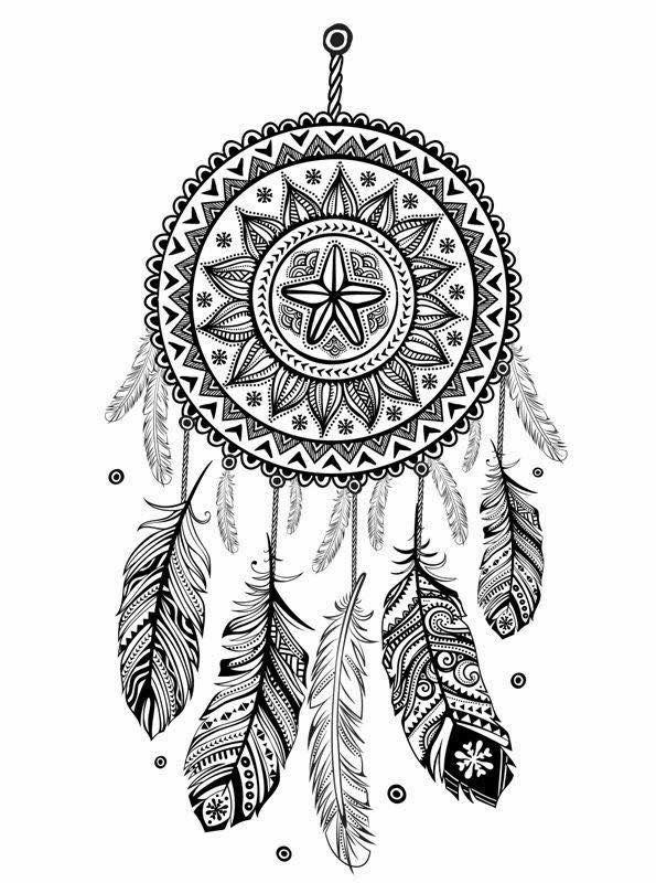 Pin By Karla Jimenez On Ideas Dream Catcher Drawing Indian Dream Catcher Dream Catcher Mandala