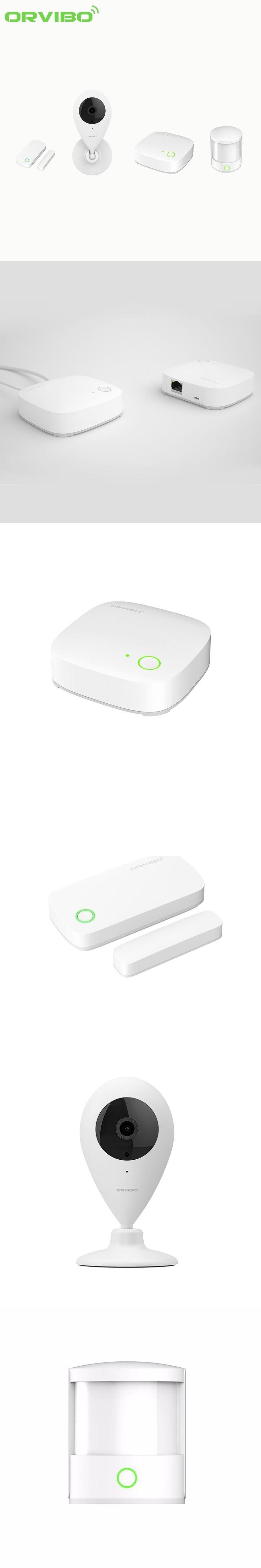 Orvibo Security Kit Smart Hub Wireless Zigbee Remote Control Motion Sensor/Door&Window Sensor Alarm Detector Wifi IP Wecam