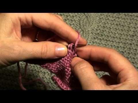 Вязание для начинающих. Как рассчитать и связать скос плеча (окончание). - YouTube