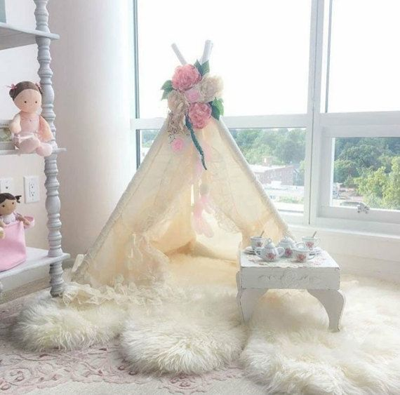 BABY BIANCA - teepee, tent, play tent, kids teepee, nursery decor