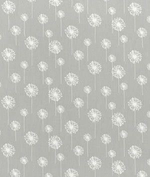 Premier Prints Small Dandelion Storm Twill #grey and #white #Fabric. $7.40 per yard
