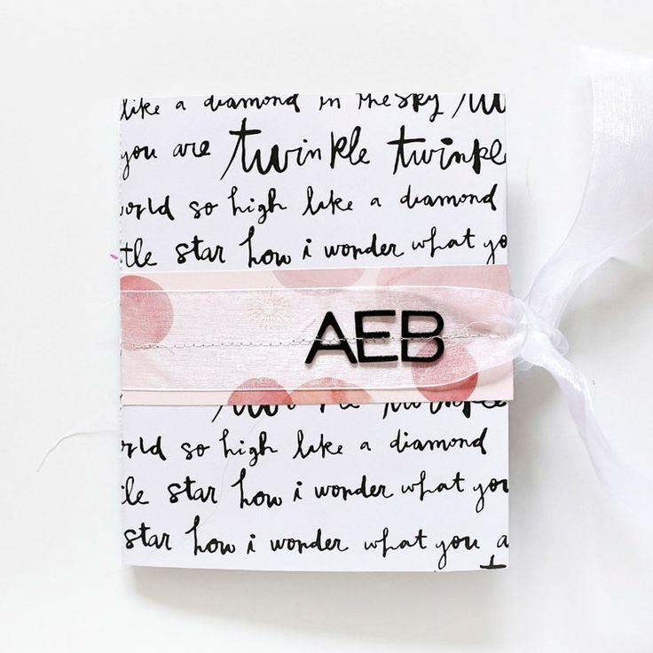 AEB: Pregnancy & Baby Mini Album by stephaniebryan at @studio_calico