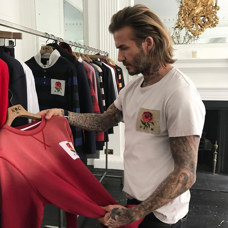 "1m Likes, 3,657 Comments - David Beckham (@davidbeckham) on Instagram: ""Always a pleasure to spend time in the @kentandcurwen showrooms  The latest collection is…"""