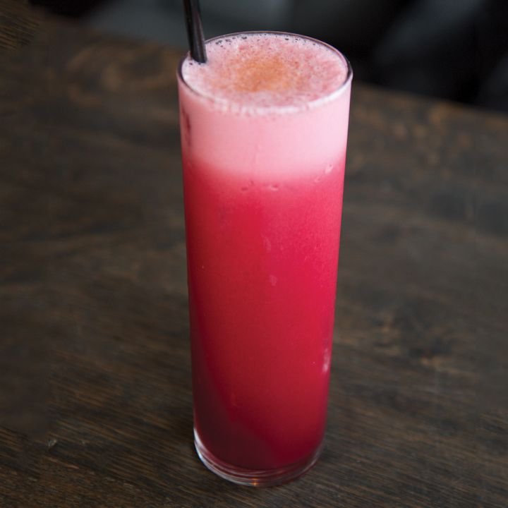 11 Hottest Cocktails to Drink in Bars Now: November 2016 CHERRY BOUNCE SOUR (JULEP, HOUSTON)