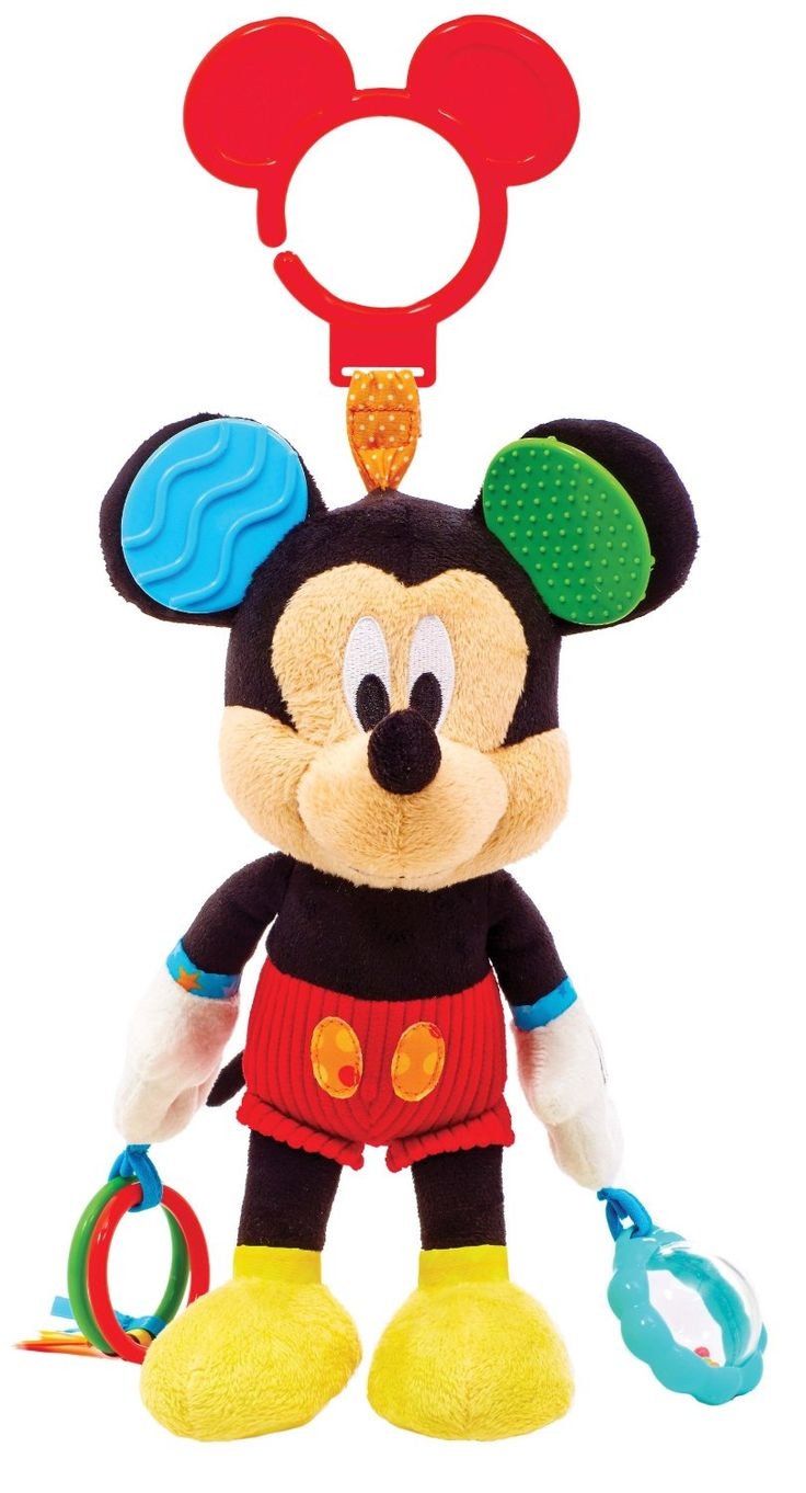 Amazon.com : Kids Preferred Disney Baby Activity Toy, Mickey Mouse