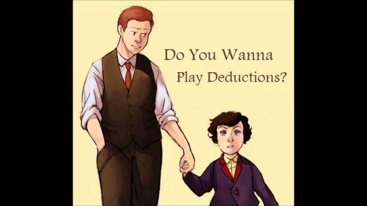 Do You Wanna Play Deductions? [Sherlock and Mycroft Frozen Parody]...I didn't need my heart anyways...