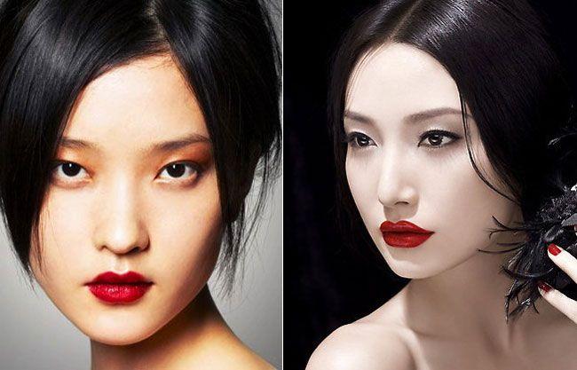 Make up giapponese: trucco da geisha. Il make up si lascia influenzare dal lontano Oriente traendo ispirazione dallo stile giapponese delle geishe...