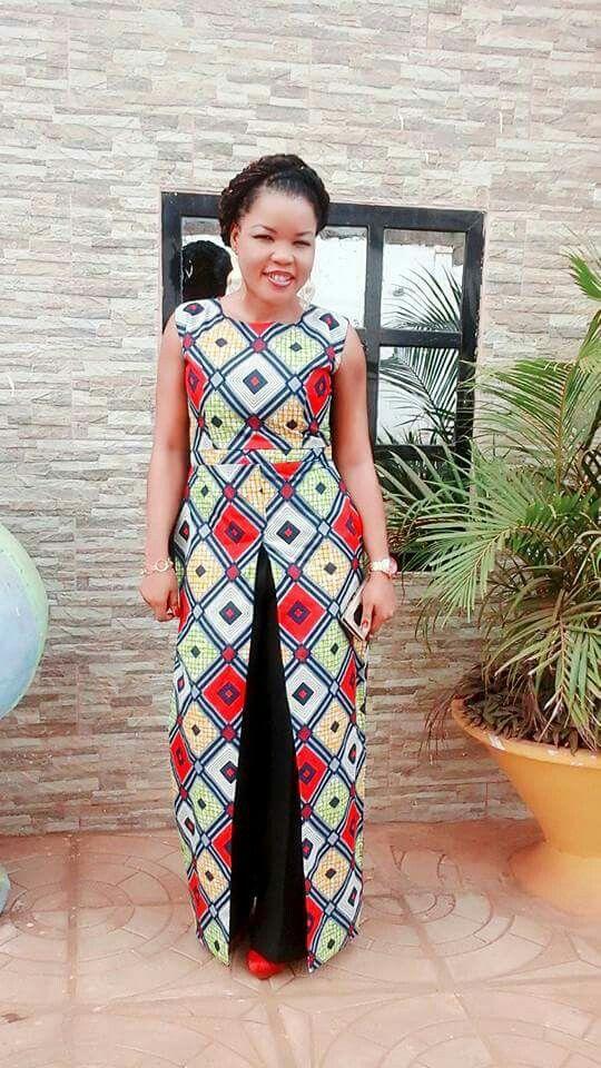 super populaire 120d1 8db27 Épinglé par rahma ndiaye sur Grande taille | Robe africaine ...