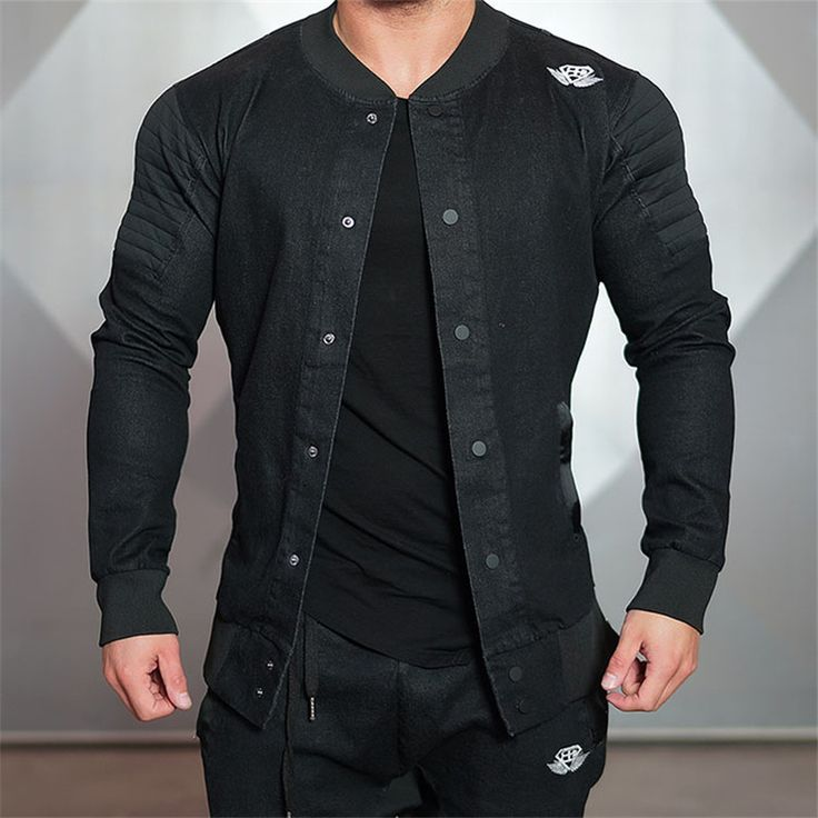 Cheap jacket men slim, Buy Quality brand jackets for men directly from China jackets for men Suppliers: 2017 New Mens Bodybuilding Hoodies Brand-clothing Workout Shirts Hooded Suits Tracksuit Men Chandal Hombre Gorilla wear