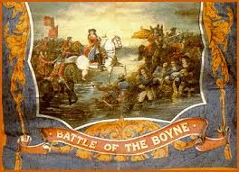 battle of the boyne tea towel