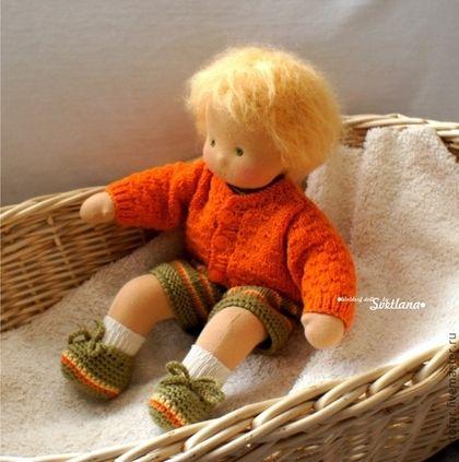 Brinquedos artesanais Waldorf.  Mestres Fair -. Pequeno sol handmade, 32 centímetros Handmade.