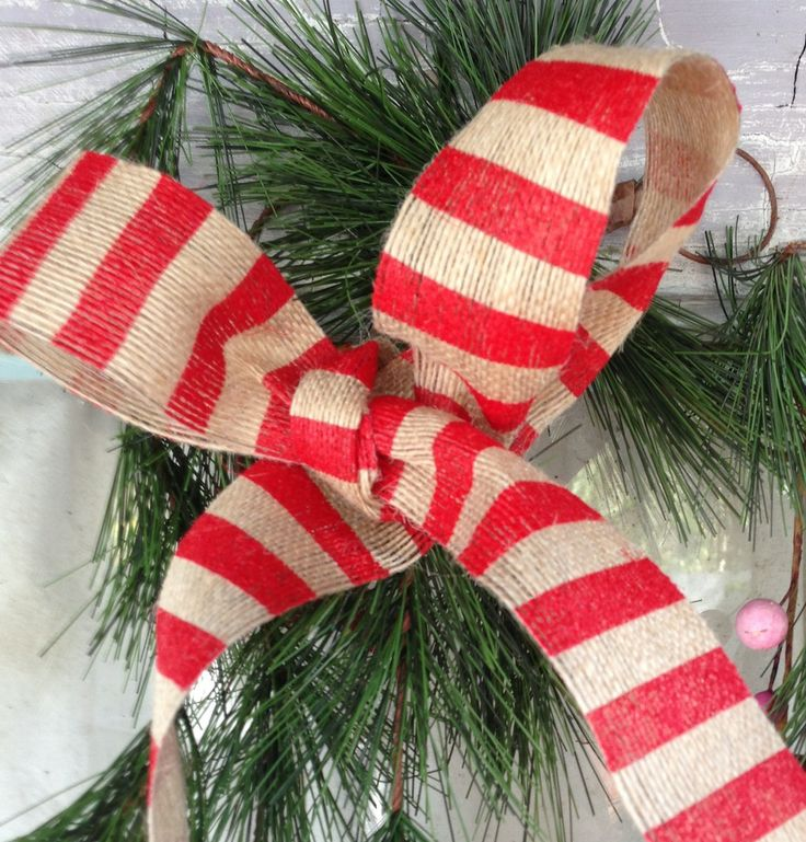 26 best images about fifi o 39 neill prairie style christmas for Burlap ribbon on tree