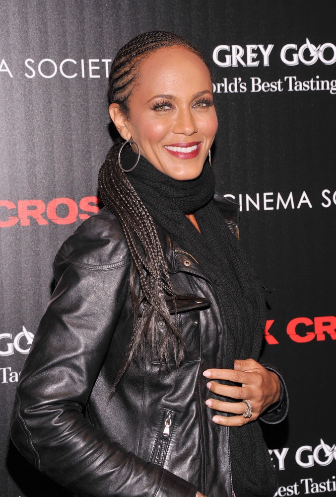 Celebrities With Cornrows, Nicole  Ari Parker.