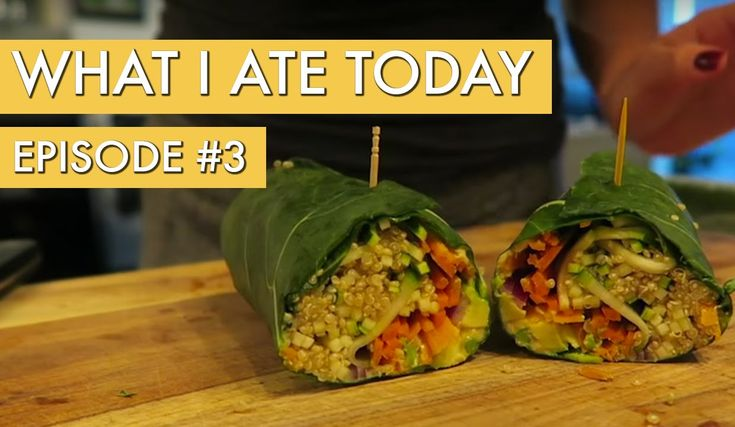 What I Ate Today: Episode 3 - YouTube