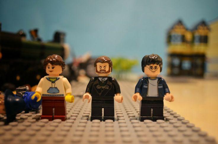 Stop Motion de Lego Harry Potter